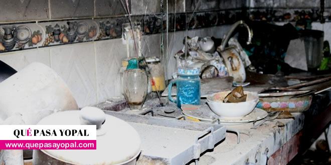 Photo of Incendio en apartamento de Yopal dejó solo daños materiales