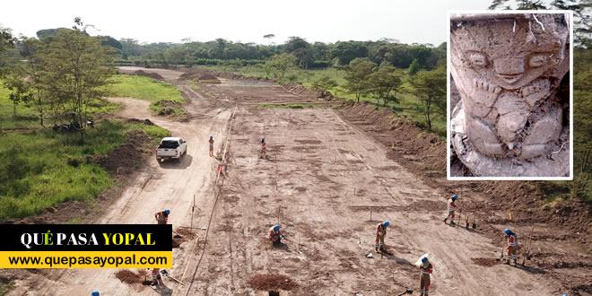 Photo of Rescatan elementos arqueológicos en sector de la variante de Cumaral