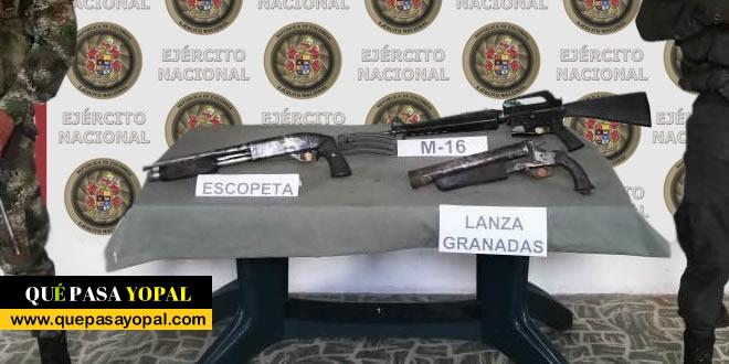 Photo of Ejercito hallo depósito ilegal del Eln y la incautación de carne de chigüiro