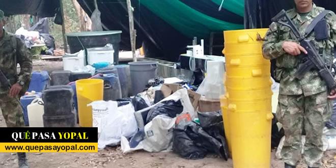 Photo of Destruido en Orocué cristalizadero para el procesamiento de cocaína