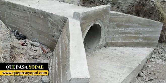 Photo of 16 alcantarillas se construye en vía rural de Recetor
