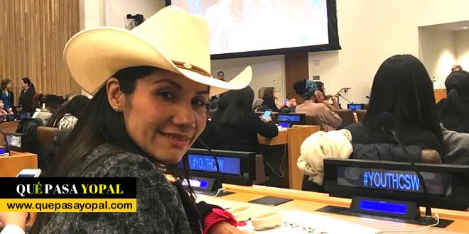 Photo of Amanda Rocío González  asistió a la sesión de la Comisión de la Condición de la Mujer