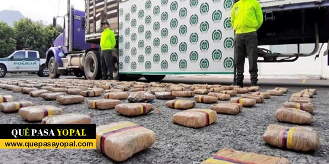 Photo of Encuentran droga oculta en un tráiler en Yopal
