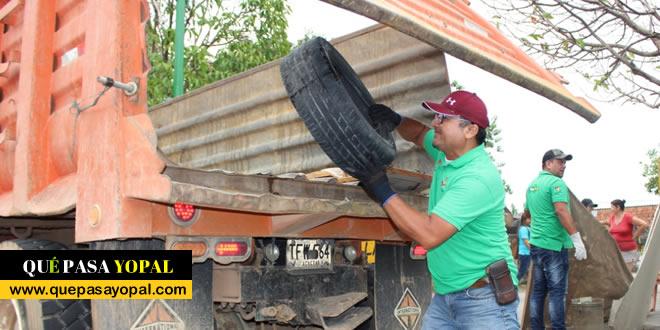 Photo of 1.930 kilos de inservibles recolectados en tres barrios de Yopal