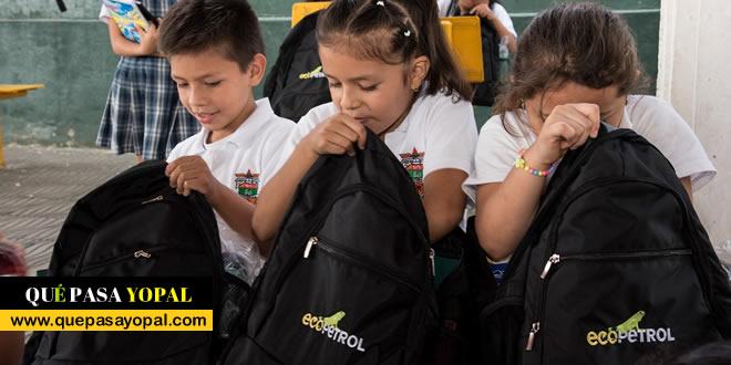 Photo of Ecopetrol entrega más de 3.300 kits escolares para niños de Casanare