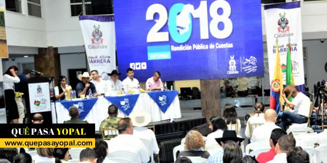 Photo of Así fue la rendición de cuentas del gobernador de Casanare, Alirio Barrera