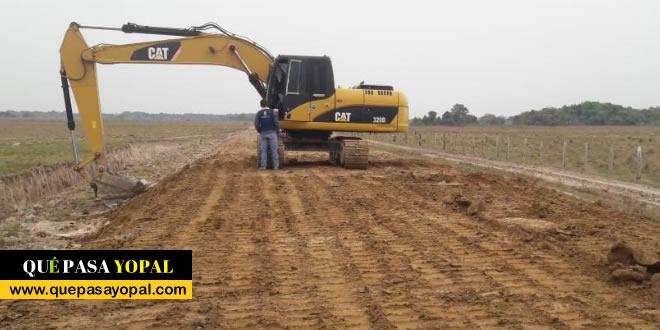 Photo of 2.5 kilómetros de terraplén mejoran el estado de una trocha