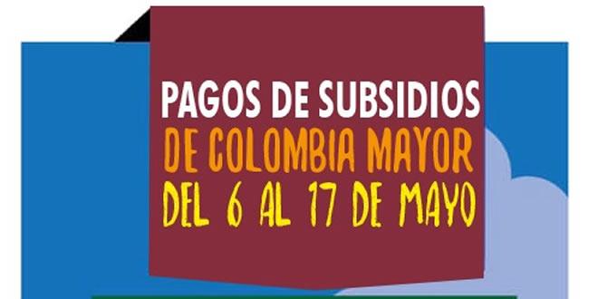 Photo of Nuevas fechas de pago de subsidios para los adultos mayores beneficiarios de Yopal