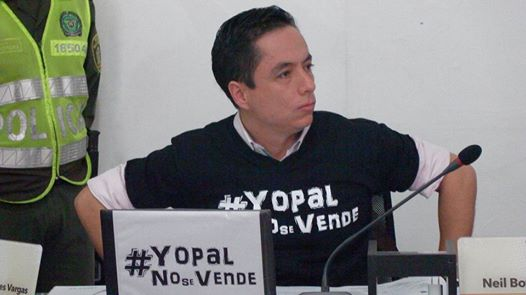 Photo of Capturado el alcalde de Yopal, Leonardo Puentes