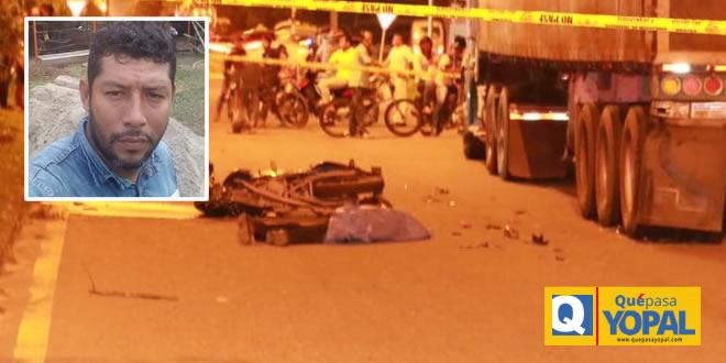 Photo of Motociclista falleció en accidente ocurrido en Yopal