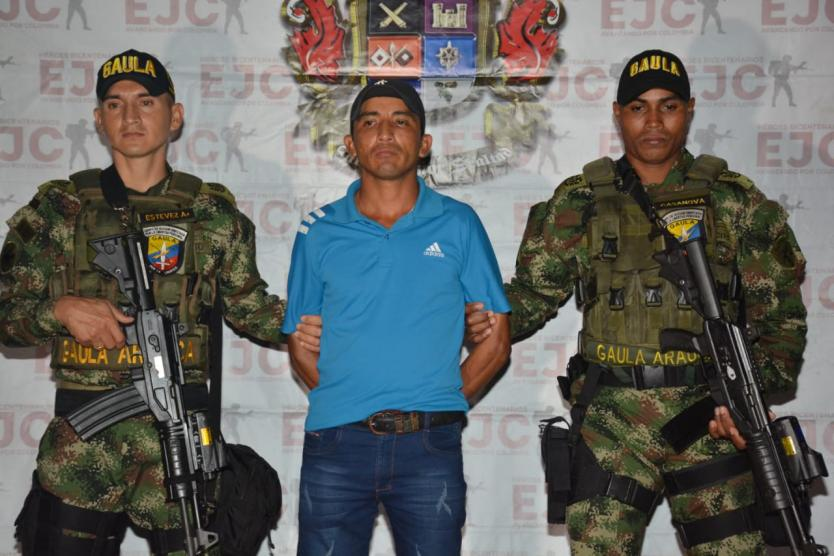 Photo of Ejercito capturó a jefe de las finanzas del ELN en Casanare