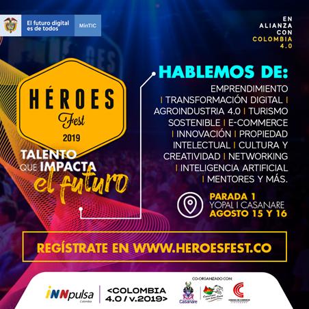 Photo of Héroes Fest promoverá iniciativas de Agro 4.0 en Yopal