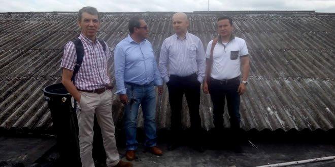 Photo of Secretario de Salud del Departamento visitó centro hospitalario de Paz de Ariporo