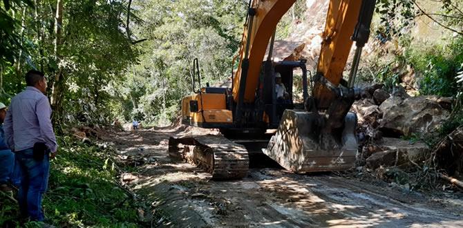 Photo of Avanzan labores para reapertura de la vía hacia El Morro