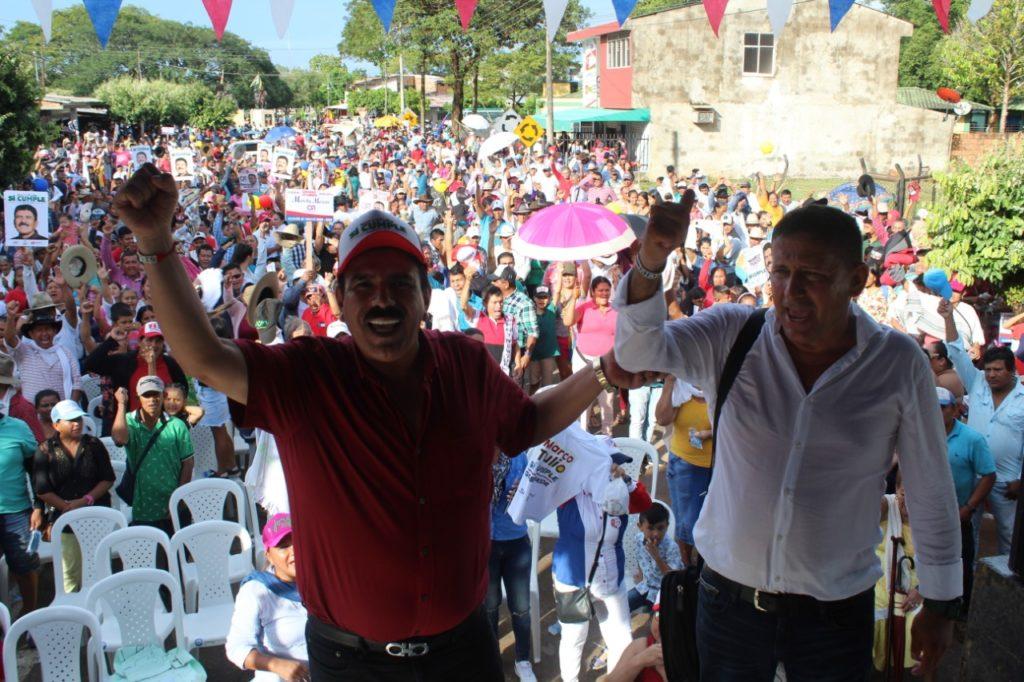 Photo of Multitudinario recibimiento a Marco Tulio Ruiz en Orocué