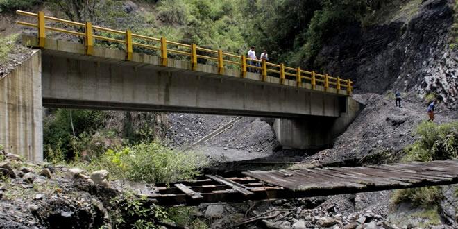 Photo of Puente la Quilambría en La Salina, nominado al premio Regalías «Bien Invertidas»