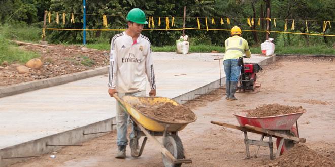 Photo of Continúa construcción del parque en San José del Bubuy