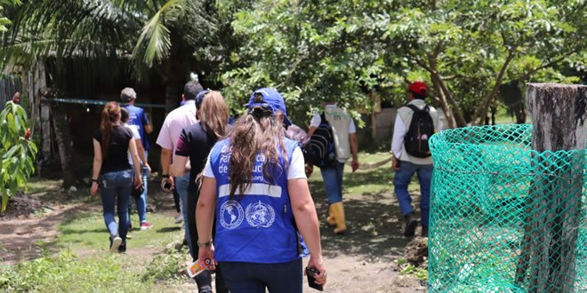 Photo of Balance exitoso de visita de verificación de la OPS y Minsalud, al proceso de Chagas en Yopal