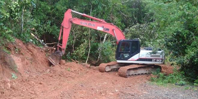 Photo of Trabajos de mantenimiento de vías en zona rural de Yopal