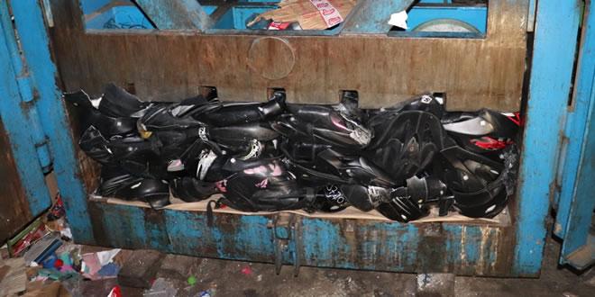 Photo of Más de 800 cascos no reglamentarios fueron destruidos en Yopal