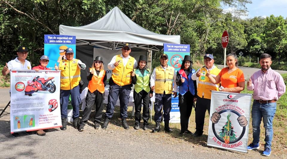 Photo of Equipo de Tránsito Municipal llevó campaña de prevención vial a El Morro