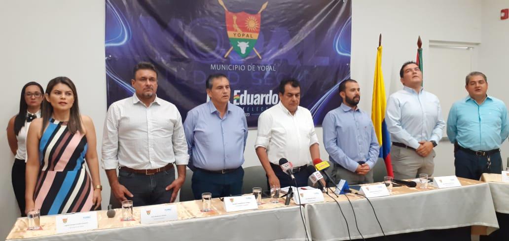 Photo of Alcalde Luis Eduardo Castró reveló nombres de su gabinete oficial