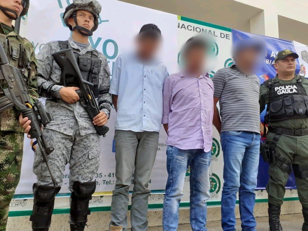 Photo of En trabajo en conjunto se logró la captura de la banda de extorsionistas 'Adonay Pinilla'