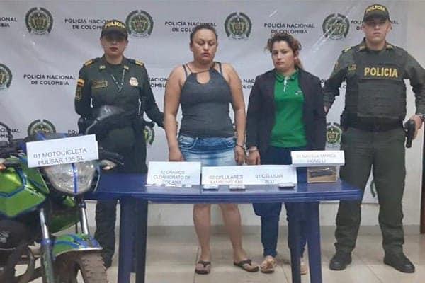 Photo of Dos  mujeres capturadas por la venta de sustancias alucinógenas en Puerto Carreño