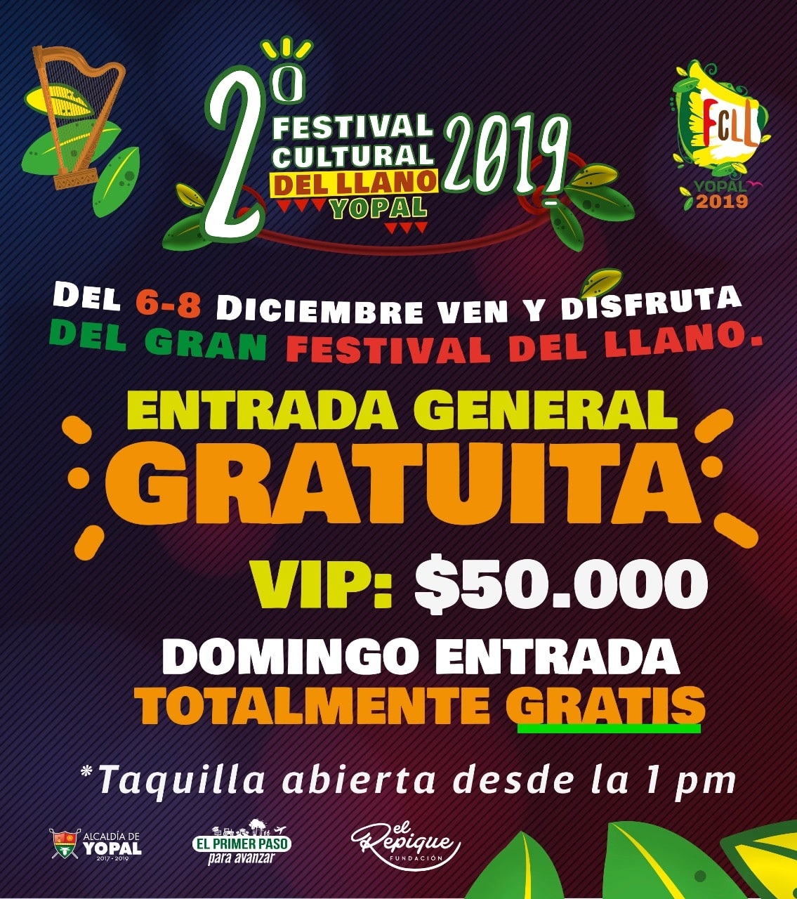 Photo of Este fin de semana Yopal celebra el segundo Festival Cultural del Llano