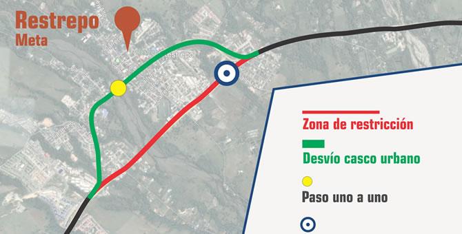 Photo of Durante dos noches se restringirá el paso vehicular en la variante de Restrepo