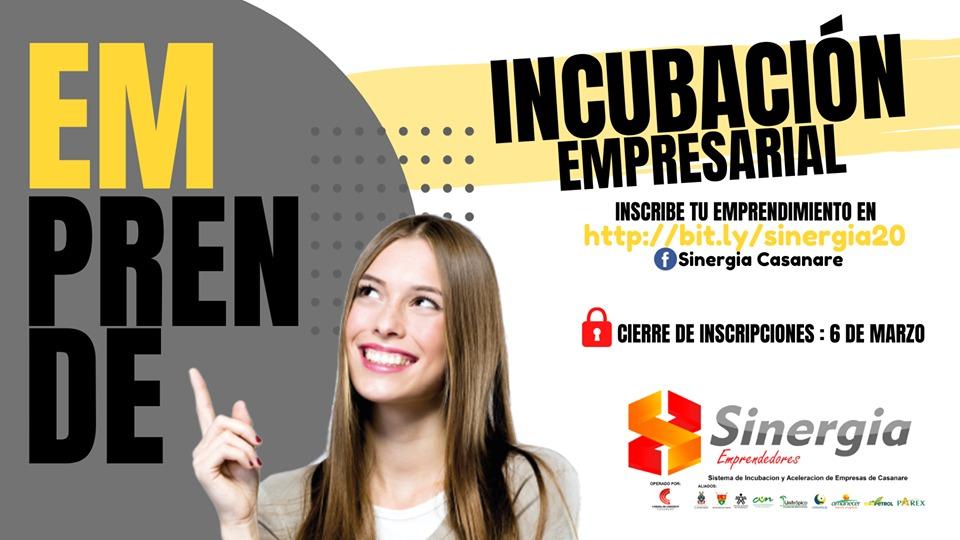 Photo of Último plazo para inscripciones en el programa de Emprendimiento Sinergia