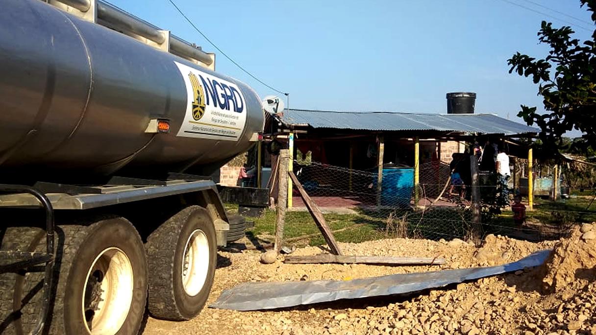 Photo of Distribución de agua a hogares campesinos en ocho veredas de Hato Corozal