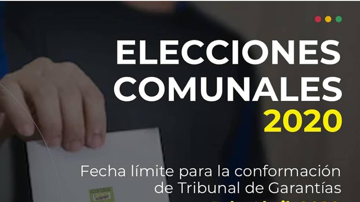 Photo of El 26 de abril habrá elección de representantes de Juntas de Acción Comunal