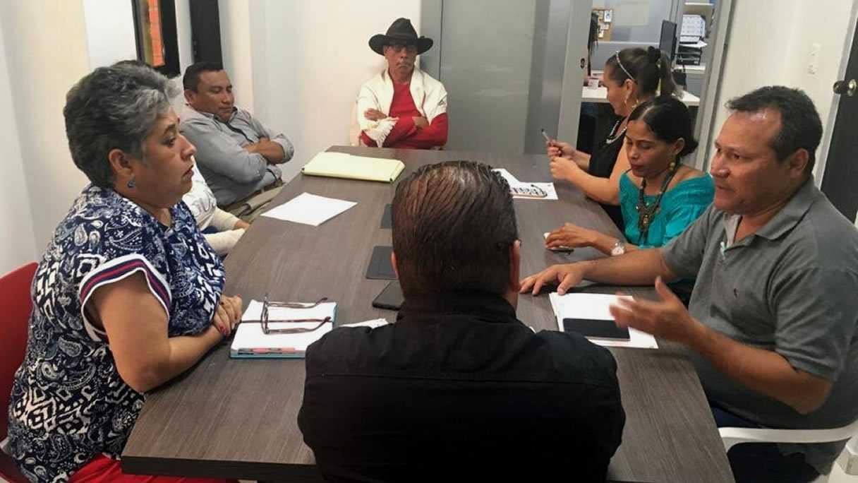 Photo of Secretaría de Obras realizó mesa de trabajo con voceros de Villa David