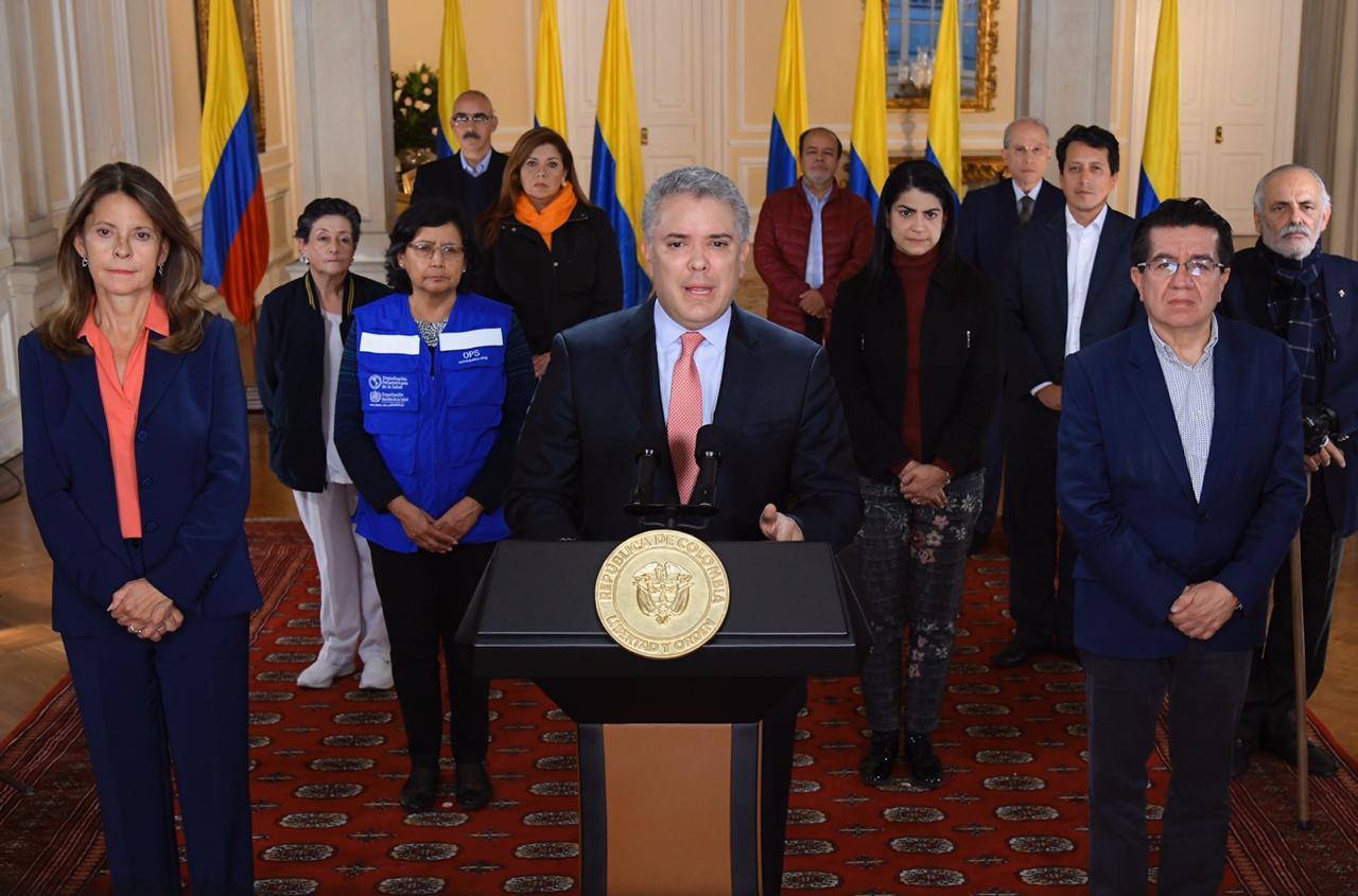 Photo of Aislamiento obligatorio en toda Colombia del 24 de marzo al 13 de abril