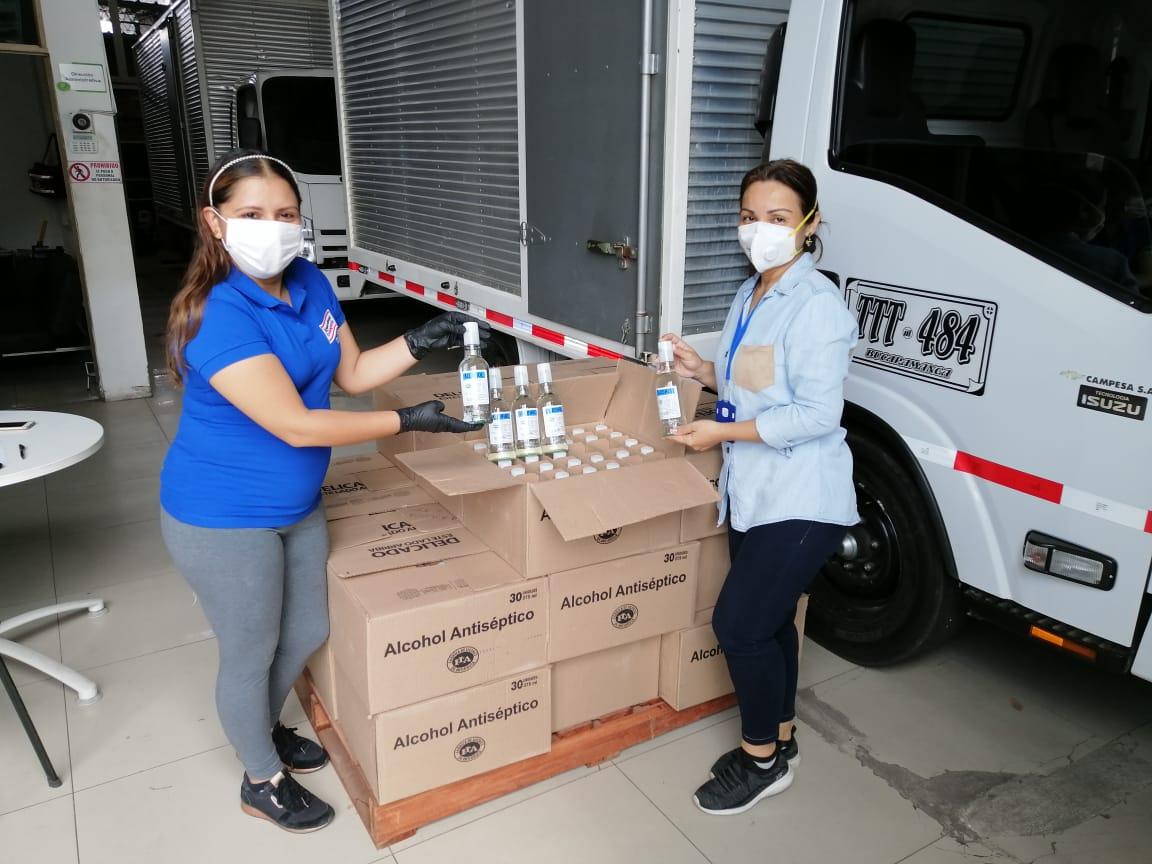 Photo of 1.500 unidades de alcohol antiséptico para las IPS de la Red pública y privada de Casanare
