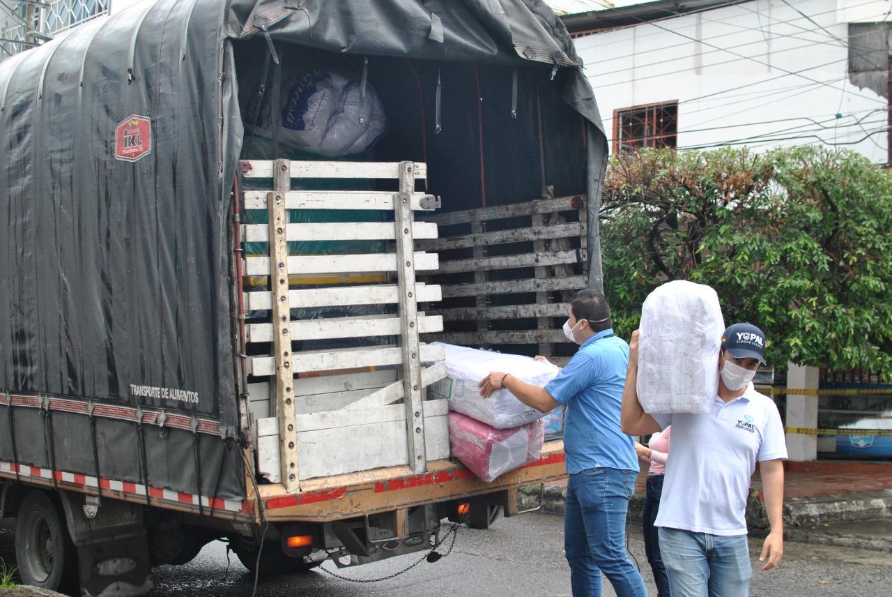 Photo of Kits de bioseguridad entregó OIM a la alcaldía de Yopal