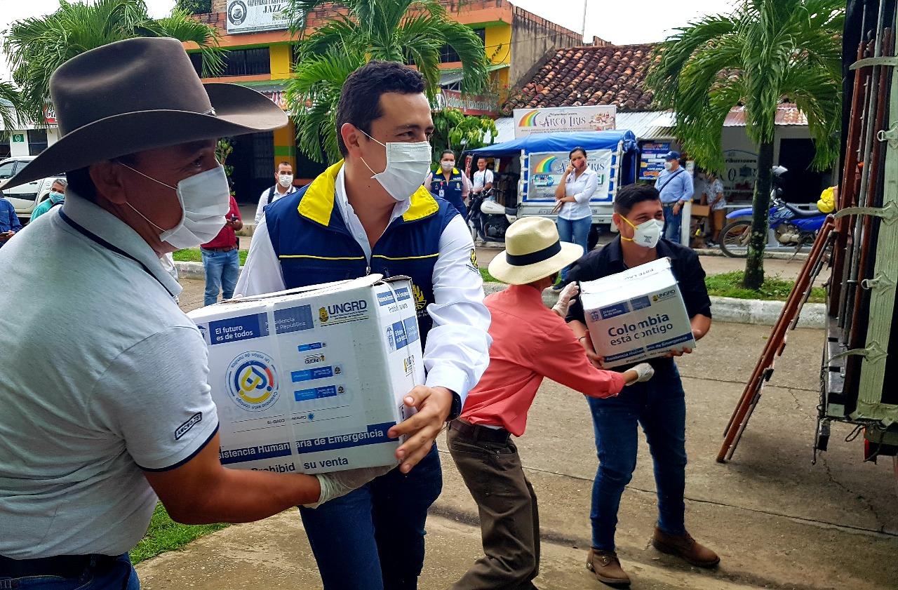 Photo of Más de 800 mercados fueron entregados en el norte de Casanare