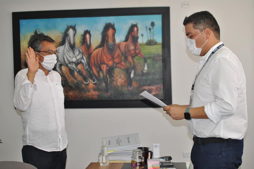 Photo of Tomó posesión Luis Hernando Calixto como Juez del Circuito Penal de Yopal