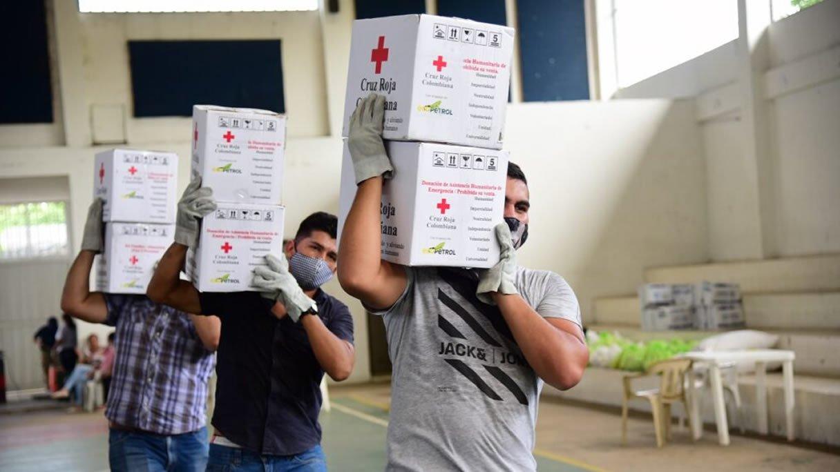 Photo of Ecopetrol entregó 5.400 kits alimentarios al Departamento de Casanare