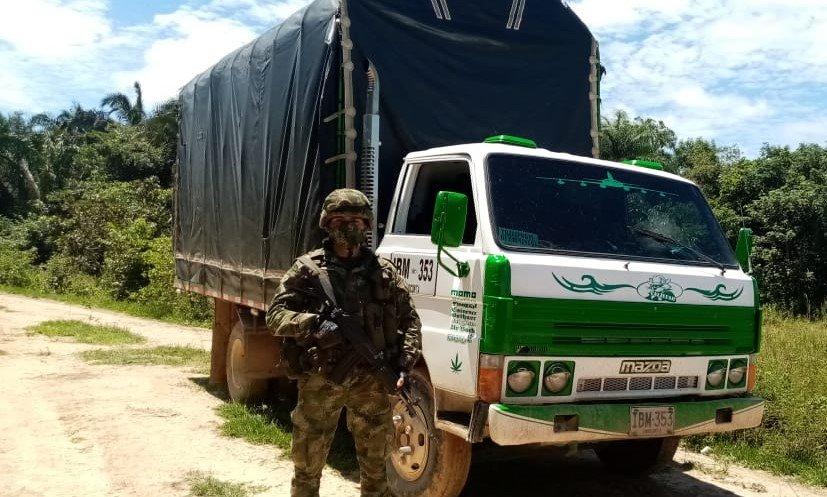 Photo of Ejército incautó 360 libras de marihuana en Casanare