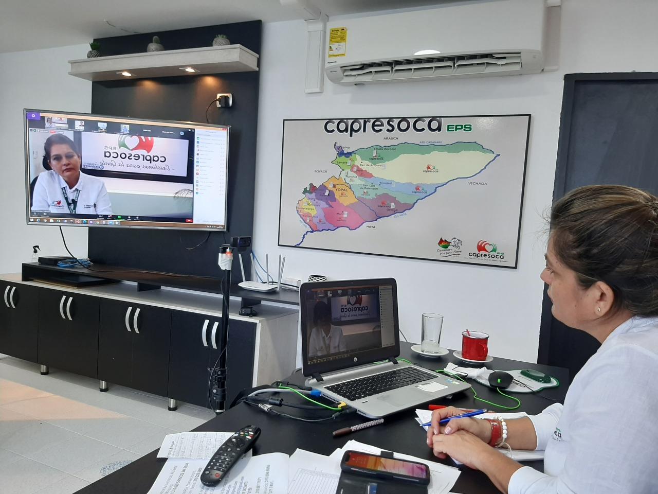 Photo of Capresoca EPS se extrema medidas de bioseguridad