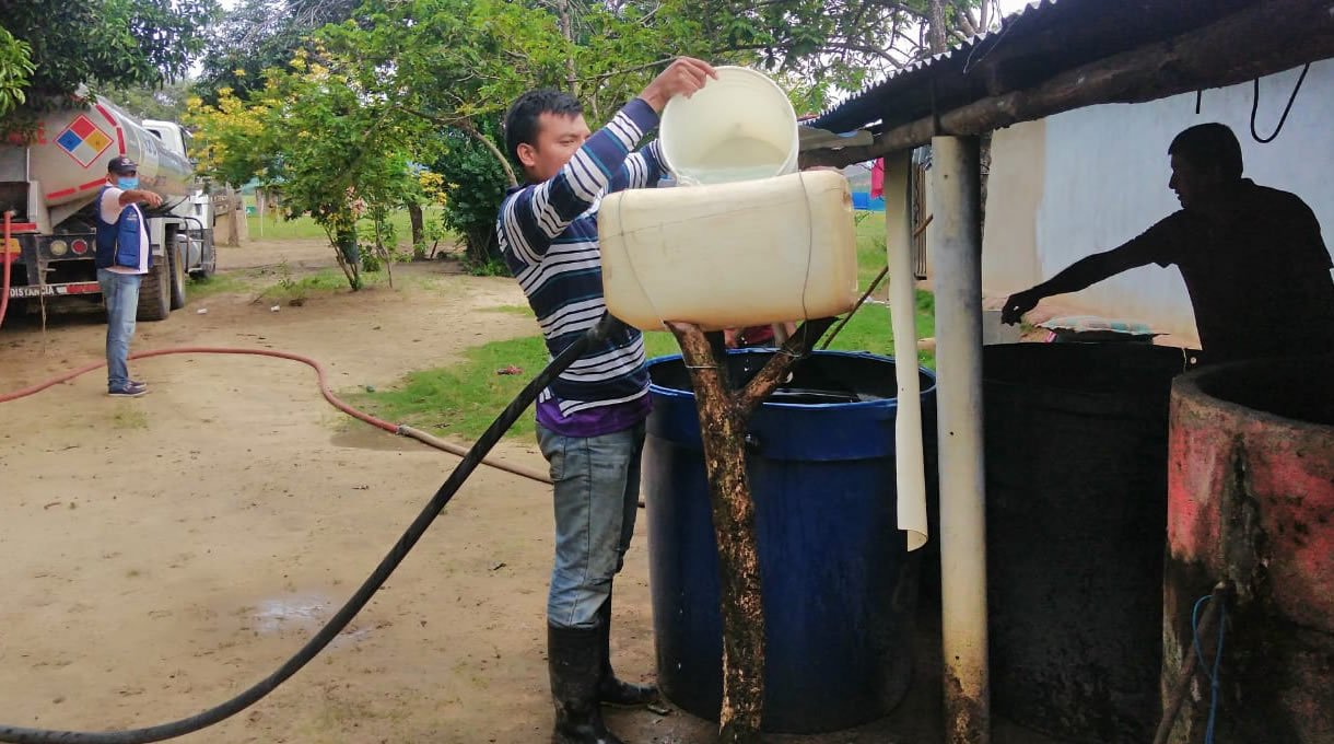 Photo of Casi 6 millones de litros de agua se han distribuido durante la pandemia