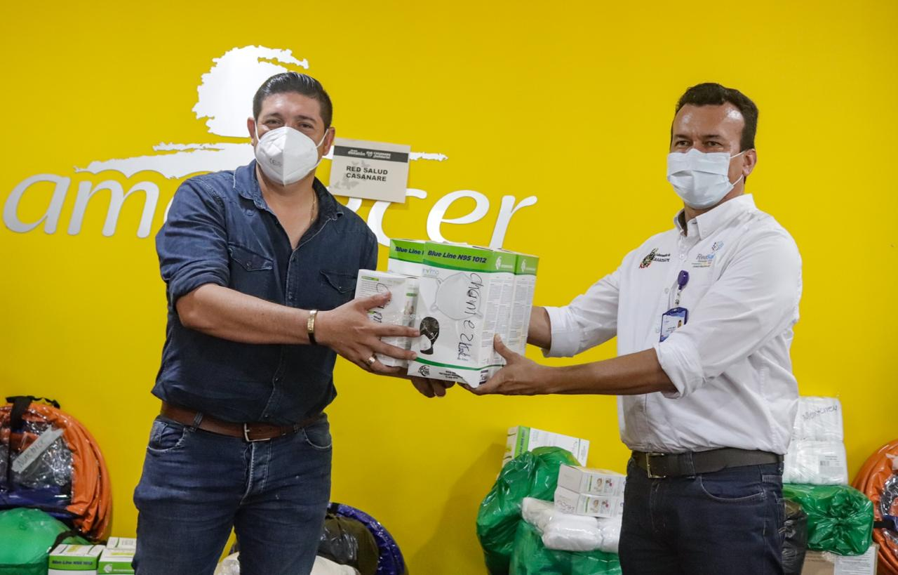 Photo of Entidades de salud y socorro recibieron paquete de ayudas