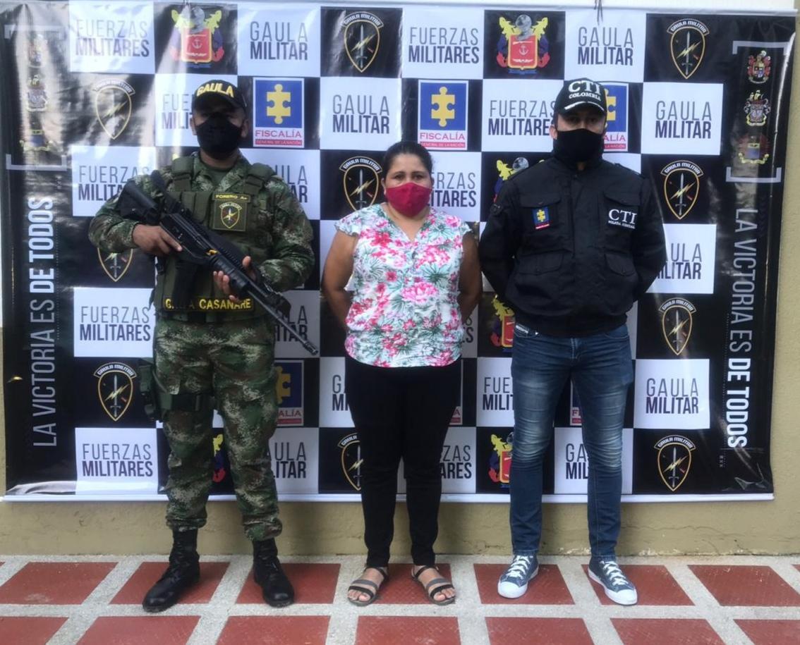 Photo of Mujer acusada de desplazamiento forzado fue capturada en Yopal
