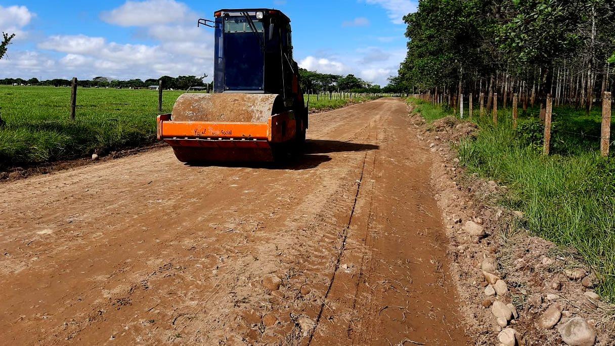 Photo of Avanza en el mantenimiento de vías rurales en Yopal