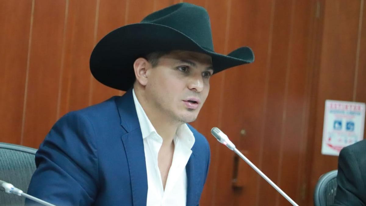Photo of César Zorro ponente del proyecto de ley del sistema de regalías