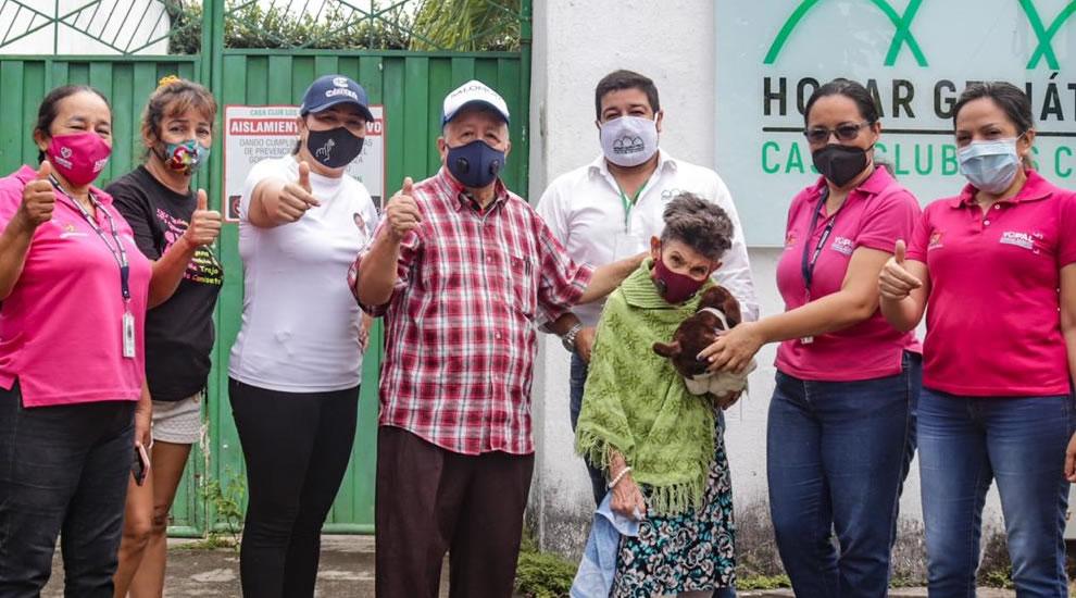 Photo of Desalojo de abuelos en Yopal tuvo un final feliz