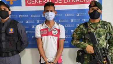 Photo of A cárcel disidente de las FARC capturado con artefacto explosivo.