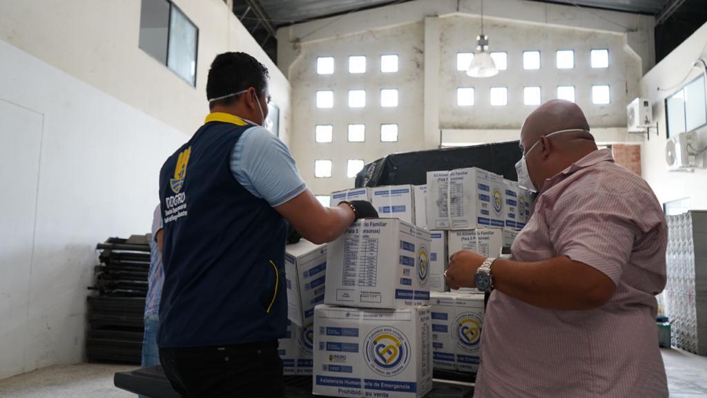 Photo of 100 ayudas humanitarias para familias vulnerables de Támara